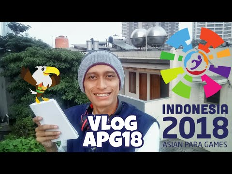 Info Volunteer Asian Para Games Part 1 By Mad Zifai #VlogVolunteer