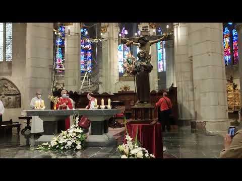 El Apóstol Santiago entra en procesión a la Catedral de Santa María