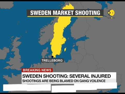 Sweden shooting: Several injured
