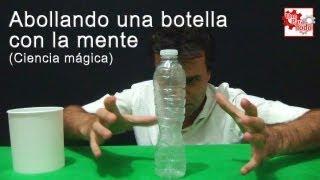 Como abollar una botella sorprendentemente │ Ciencia mágica