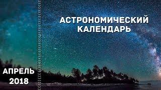 видео Лунный календарь на Апрель 2018 Фазы Луны и благоприятные лунные дни в апреле