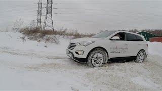 Тест драйв Hyundai Grand Santa FE 2.2 CRDi 197 л.с.