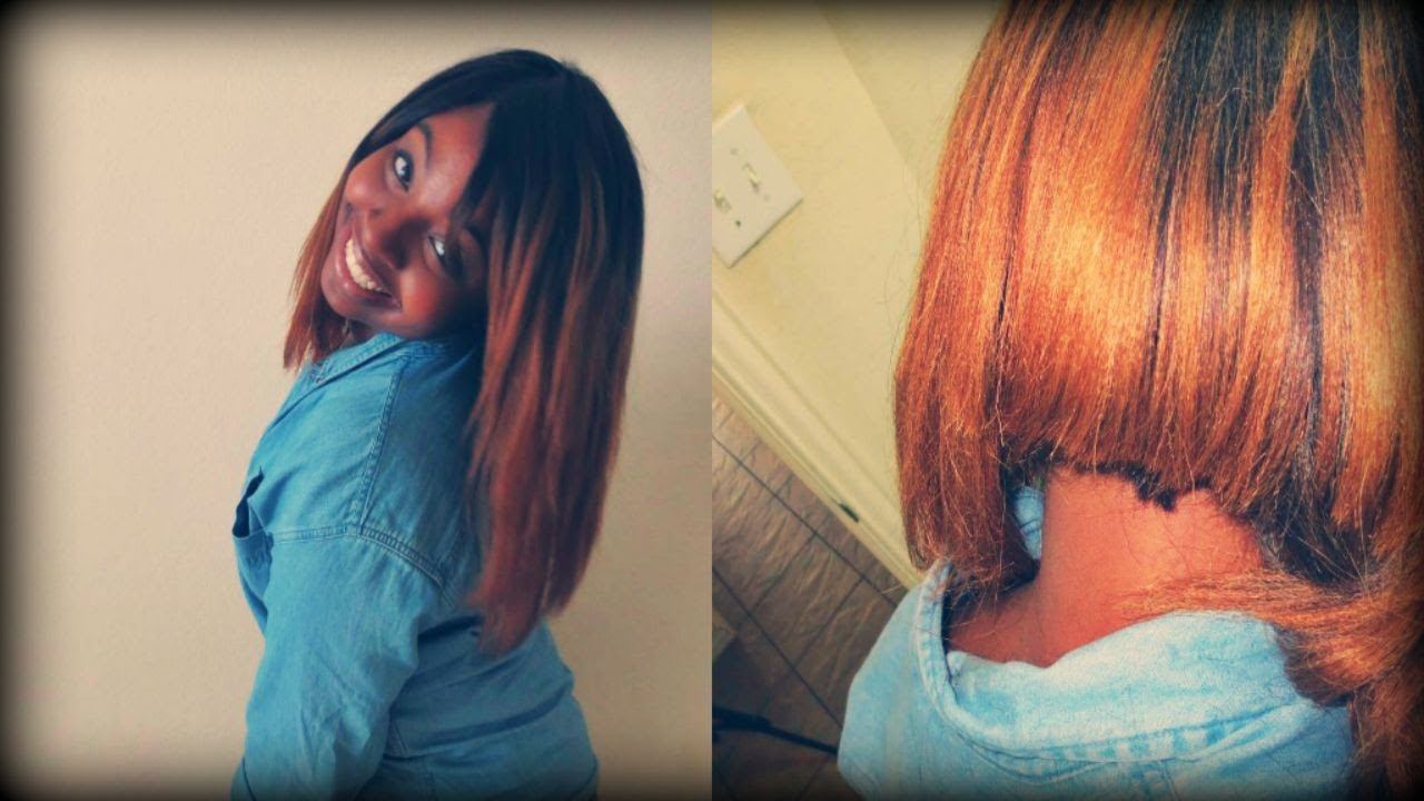 Sew in: Ombre Bob Tutorial - YouTube