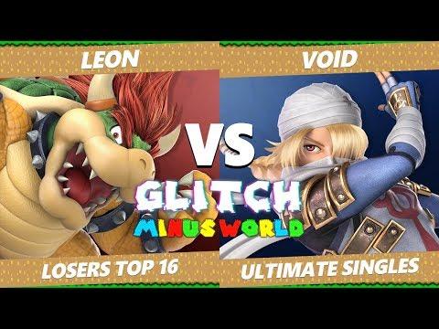 Glitch 7 SSBU - SPS Leon (Bowser) VS CLG VoiD (Sheik, Pichu) Smash Ultimate L. Round Of 16