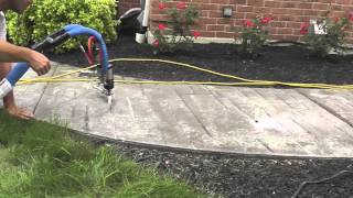 Sidewalk lifting 2