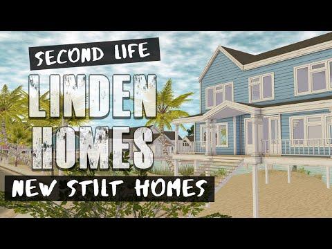 LINDEN HOMES - NEW STILT HOMES - Second Life