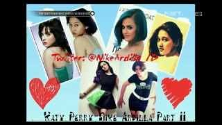 Kemiripan Katy Perry dengan Nike Ardila