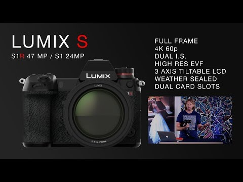 Panasonic Lumix S1R Full Frame Mirrorless Camera