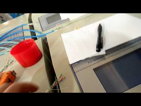Internet cable/Network cable/patch cord cut strip machine