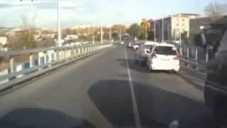 Starke Bremsen kurzer Bremsweg
