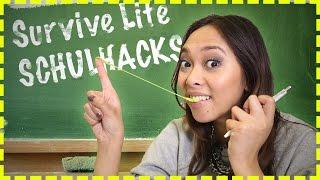 Schulhacks | 5 neue Life Hacks | #SurviveLife 8
