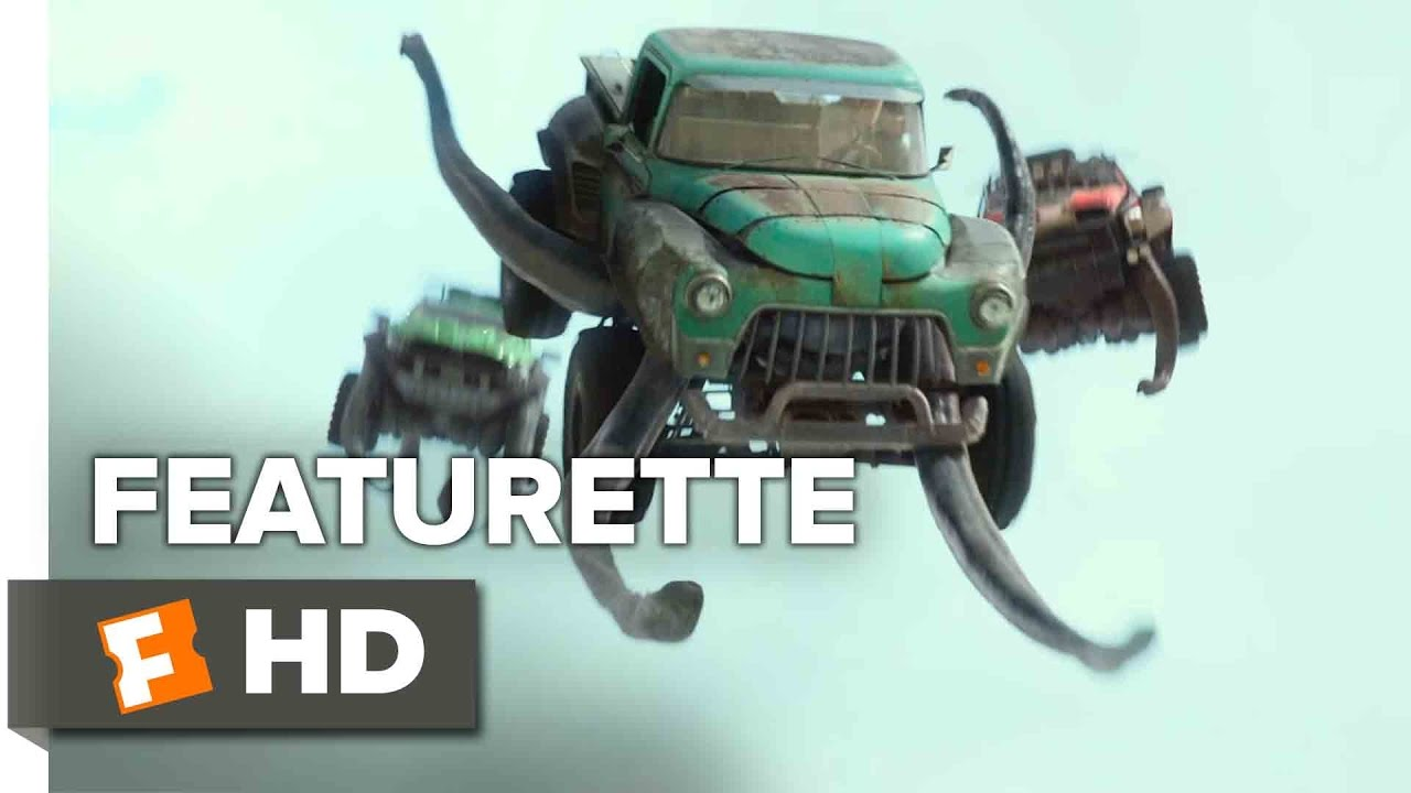 Monster Trucks Featurette Making Monster Trucks 2017