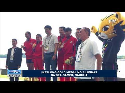 SPORTS BALITA: Ikatlong gold medal ng Pilipinas sa SEA Games, nakuha