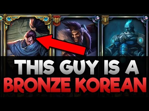 Do They Deserve it? Placing a Bronze Korean in NA Diamond (YOU WILL NOT BELIEVE THIS)