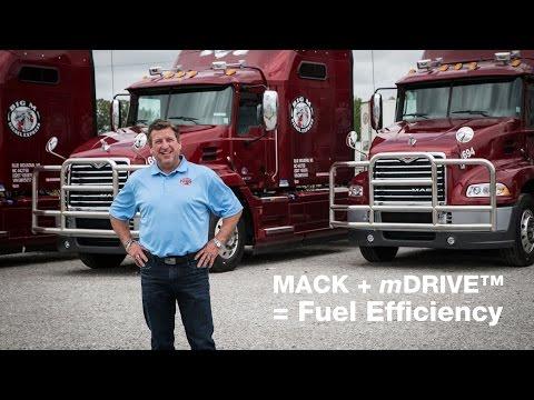 Big M Transportation saves big with Mack's mDRIVE