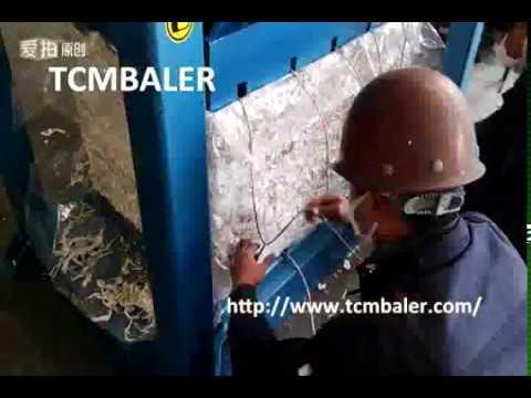 TCM BALER- Used garments baling press clothings clothes bagging press baler Botswana