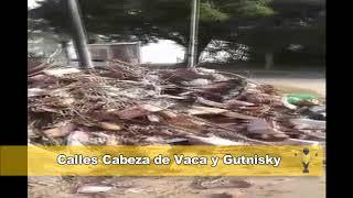Basural en el Barrio Juan de Vera