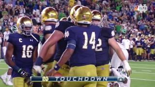 Notre Dame Michigan State Highlights