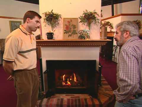 How to Install Gas Fireplace - Modern Colonial Home- Bob Vila eps