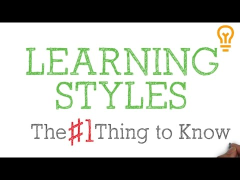 Learning Styles - A Complete Myth