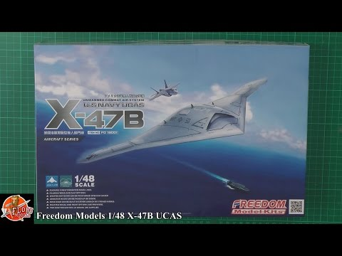 Freedom Models 1/48th X47B Review