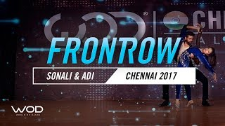 Sonali & Adhi | FrontRow | World of Dance Chennai Qualifier 2017 | #WODCHE17
