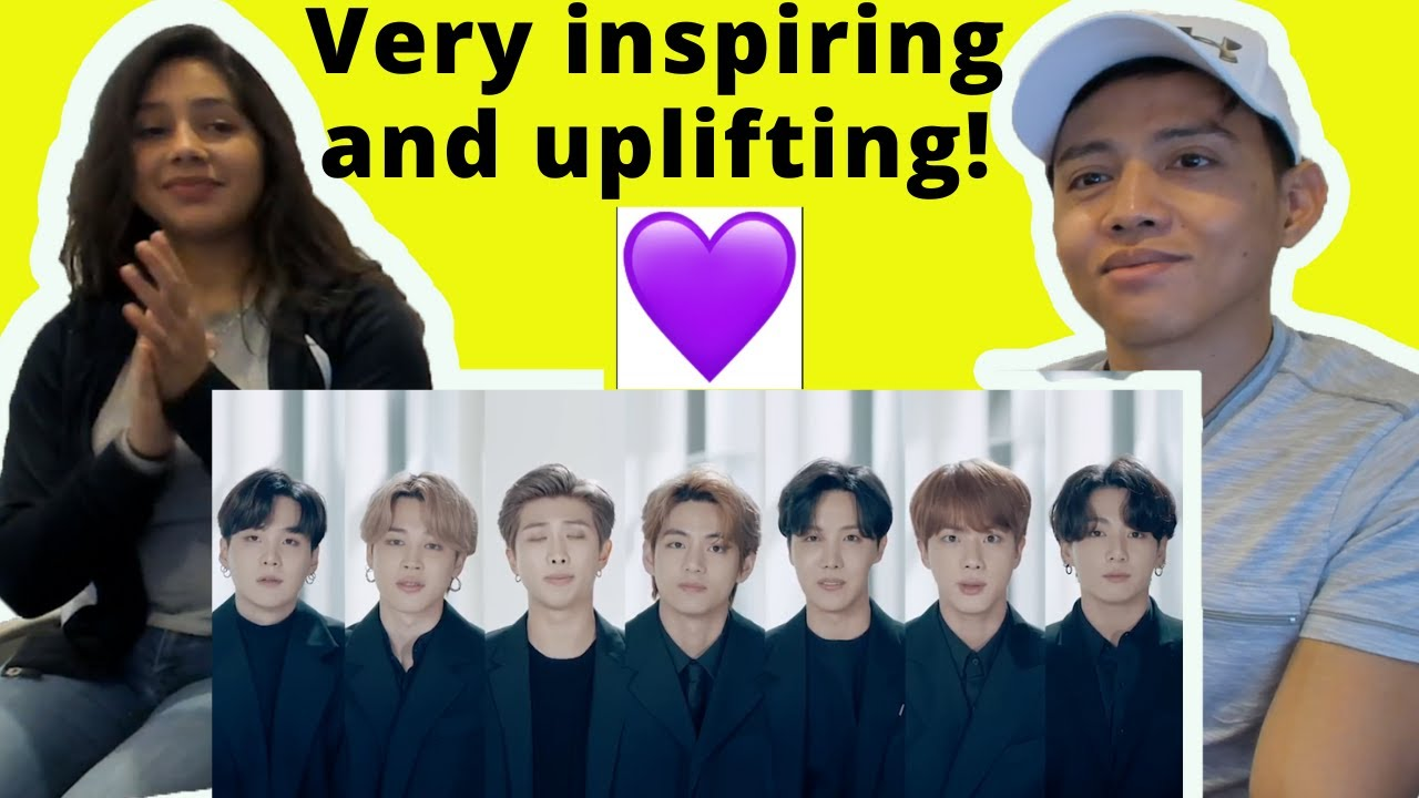 BTS (방탄소년단) Speech at the 75th UN General Assembly | Reaction Video by Reactions Unlimited