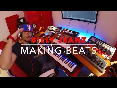 BILLY JEANZ Making a ☆Soul Trap Beat☆ with Maschine Studio using NI Street Swarm and Komplete sounds