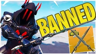 The Infinity Sword Has Been REMOVED! - Fortnite Season 7 Solos