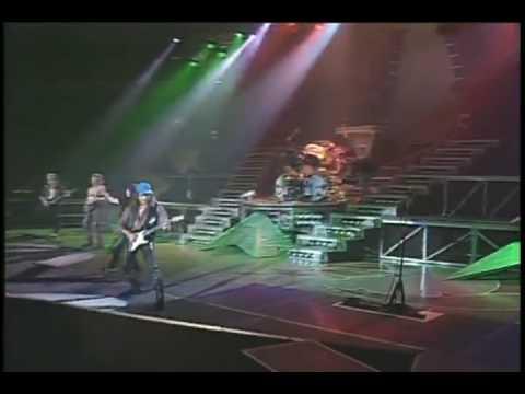 SCORPIONS [ BAD BOYS RUNNING WILD/HIT BETWEEN THE EYES ] LIVE 1991