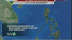 BT: GMA Weather update as of 12:00pm (Feb. 17,2014)