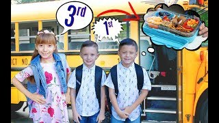 My Kids' FIRST Day of School... 😭 (2018)