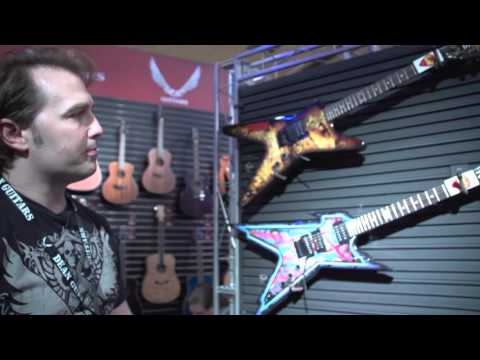 NAMM 2016 - Dean Guitars - New Dimebag Darrell Signature Models