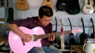 hương tóc mạ non - guitar solo