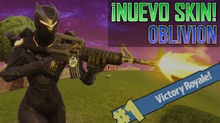 Fortnite ? NEW OBLIVION/FORGET SKIN! Only Gameplay