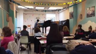 Egzamin z pianina trzynastolatków na Anderlechcie