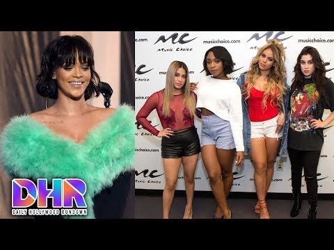 Rihanna Private Messages Fan After Breakup - Fifth Harmony REFUSES To Change Name (DHR)