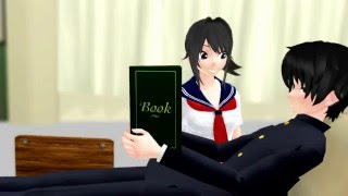 """MMD """"When Girls Bite Boys"""" – multi cartoon anime game GF, YS, APH, FNAF, JJBA funny animation"""
