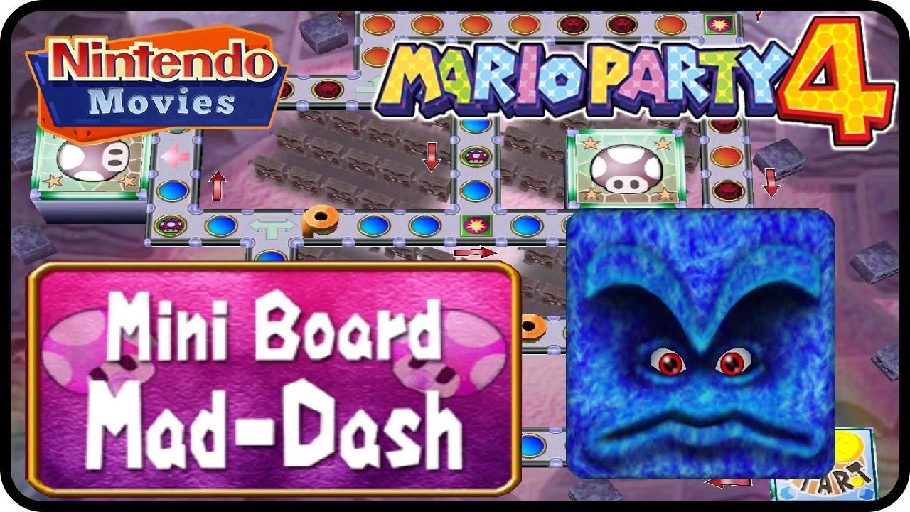 Mario Party 4 - Mini Board Mad-Dash (Multiplayer)