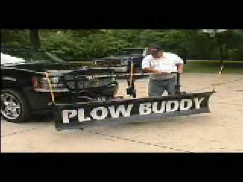 Chevy Small Suv >> SNOW PLOW for Driveway fits small truck or SUV - YouTube