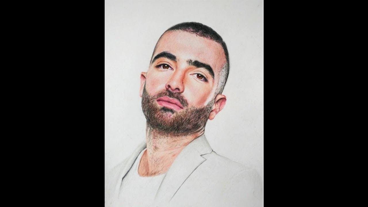 עומר אדם: Omer Adam Speed Painting - YouTube