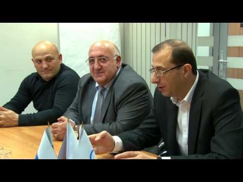 Министр спорта Армении в офисе ФИАС