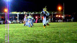 Teen Boys Grass Special - Rocky Boy Pow wow 2011. Song 2