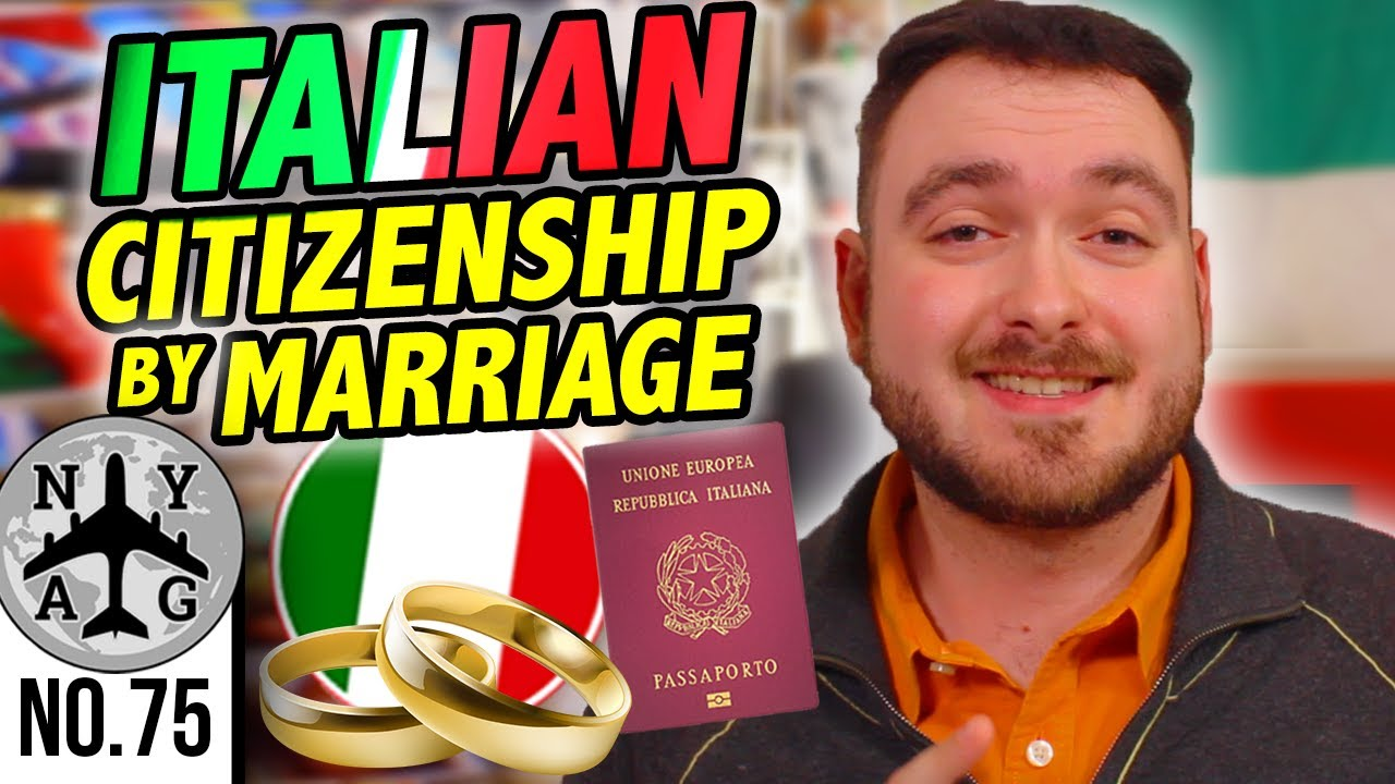 Italian Citizenship By Marriage Overview (Jure Matrimonii ...