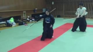 鈴木聖奈の薙刀殺陣 suzukiseina's Japanese halberd.samurai stunt.