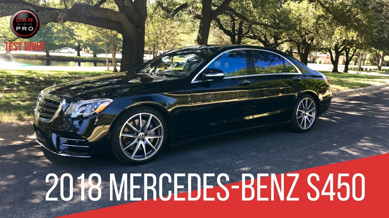 2018 mercedes benz s450 test drive youtube for Mercedes benz s450