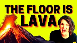 🔥THE FLOOR IS LAVA 🔥 Awesome Brain Breaks Action Songs 🔥 Songs for Kids🔥