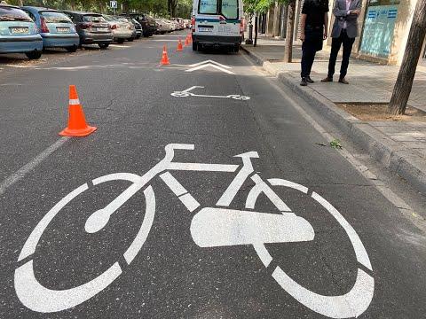 Córdoba estrena la primera ciclocalle