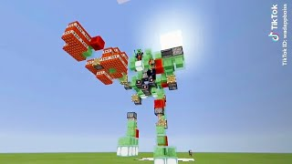 Tik Tok +Minecraft =.... (#18)hài bựa hai troll