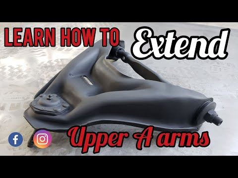 """How to"" extend upper lowrider A Arms"
